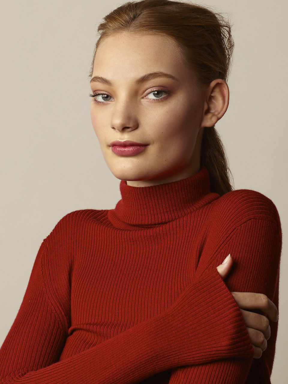 Portrait de femme publicité