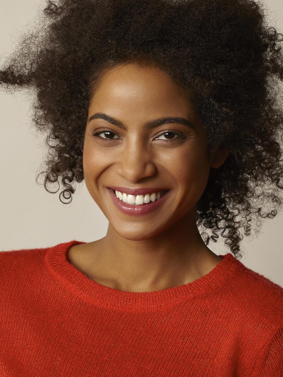 Publicité portrait femme cosmétique